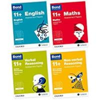 Bonds Bond 11+: English, Maths, Non-verbal Reasoning, Verbal Reasoning: Assessment Papers: 7-8 years Bundle
