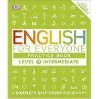 Dk Practice Books English for Everyone Practice Book Level 3 Intermediate: A Complete Self-Study Programme