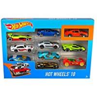 Hot Wheels Car For Kids With Remotes [Sponsored]Hot Wheels 10 Car Pack (Styles May Vary)