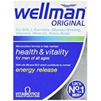 Vitamins Wellman Vitabiotics Original - 30 Tablets