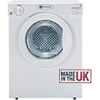 Dryers White Knight C37AW Compact Vented Tumble Dryer 3kg