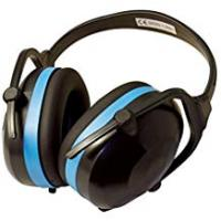Hearing Protection Silverline 633816 Folding Ear Defenders, SNR 30 dB