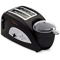 Toaster Tefal TT550015 Toast and Egg Two Slice Toaster and Egg Maker, 1200 W - Black