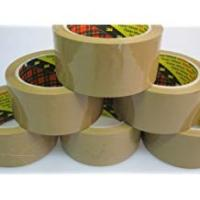 Cheap Scotches Scotch® Packing Packaging Tape Buff 50mm x 66m 6 Rolls