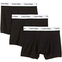 Calvin Klein Men's U2662G Boxer Trunks Pack of 3