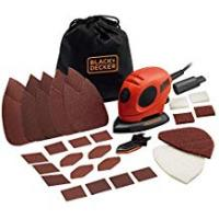 Electric BLACK+DECKER KA161BC Mouse Detail Sander with Accessories