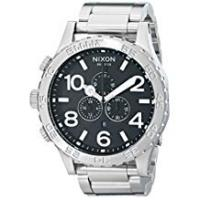Nixon Men's Analogue Quartz Watch with Stainless Steel Bracelet – A083-000