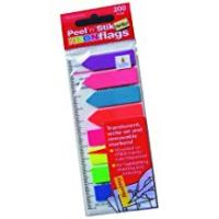 Tabs Cathedral Bright neon flags 200 individual flags multi coloured