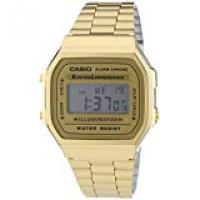 Gold Watches Casio Collection Unisex Adults Watch A168WG-9EF
