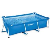Swimming Pools Intex Small Family Frame Pool 2.6m x 1.6m x 0.65m #28271