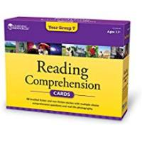 Groups Learning Resources Reading Comprehension Cards, Year Group Seven