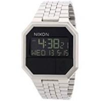 Nixon Unisex Digital Quartz Watch with Stainless Steel Strap – A158000-00