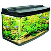 Aquariums Interpet Fish Pod Glass Aquarium Fish Tank, 120 L