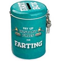 Holiday Gifts Boxer Gifts Instant Fines Pay Up Tin, Farting