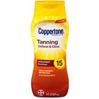 Coppertone Tanning Lotions Coppertone Tanning Lotion Sunscreen SPF 15, 8oz