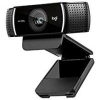 Webcams Logitech C920 HD Pro Webcam, Full HD 1080p Video Calling and Recording, Dual Stereo Audio, Stream Gaming, Two Microphones, Small, Agile, Adjustable, Black