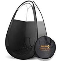 Cheap Self Tanners Pop Up Spray Tan Tent   Professional Black Popup Cubicle   Flame Retardant   Internally Waterproof against Tanning Solutions   Clear Skylight Roof   Quality Portable Carry Bag   For use with all pro mobile HVLP airbrushes