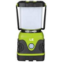 Lanterns LE Outdoor LED Lantern Dimmable 1000lm Battery Powered Water Resistant Camping Gear Equipment Flashlight Lanterns Tent Lights for Hiking Emergencies Hurricanes Outages