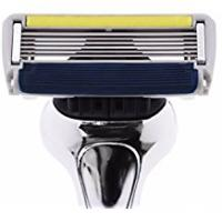 Mens Shaving Razors Dorco Pace 6 Plus Razor for Men: Ultra-sharp six blade Design – Pivoting Head for Maximum Coverage – Built-In Fine Sculpting Trimmer – Lubrication Strip with Aloe and Vitamin E – 2 Blades + 1 Handle