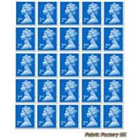 Stamps 25 x 2nd Class Standard Stamps Royal Mail Post Office