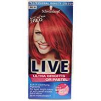 Box Hair Colors Schwarzkopf LIVE Color XXL 92 Pillar Box Red Ultra Brights
