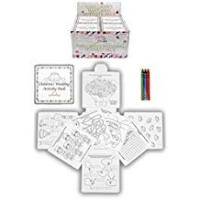 Weddings 4 Wedding Childrens Activity Pack / Crayons Drawing Colouring Book Travel Games
