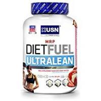 Diets USN Diet Fuel Ultralean Weight Control Meal Replacement Shake Powder, Strawberry Cream, 2 kg