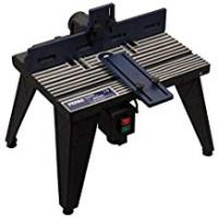 Router Tables FERM Router Table - Universal: Baseplate Diameter 162mm - Robust and stable aluminium construction