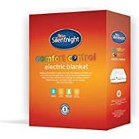 Electric Silentnight Comfort Control Electric Blanket - Double