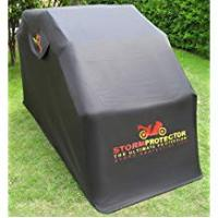 Motorcycle Accessories StormProtector® Quenched Steel Motorbike Motorcycle Scooter Mobility Waterproof Bike Cover Shelter Garage