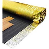 Laminate Wood Floorings Royale Sonic Gold 5mm Comfort Underlay for Laminate or Wood Flooring - 1 Roll - 15m2