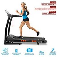 Running Treadmills JLL S300 Digital Folding Treadmill, 2018 New Generation Digital 4.5HP Motor, 20 Incline Levels, 0.3km/h to 16km/h, 15 Professional Programs, USB & Speakers, 2-Year Parts&Labour, 5-Year Motor Cover