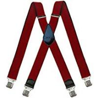 Braces Decalen Mens Braces Very Strong Clips One Size Fits All X Style Heavy Duty Suspenders