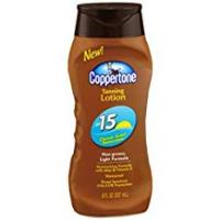 Coppertone Tanning Lotions Coppertone Tanning Lotion SPF 15Sunscreen by Coppertone