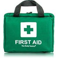 Kits 90 Piece Premium First Aid Kit Bag - Includes Eyewash, 2 x Cold (Ice) Packs and Emergency Blanket for Home, Office, Car, Caravan, Workplace, Travel
