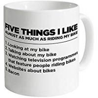 Motorcycle Accessories LBS4ALL Five Things I Like - Bike Mug