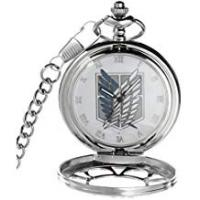 Animes Shingeki No Kyojin Attack on Titan Collectible Anime Pocket White Watch