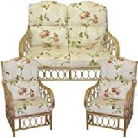 Furniture Manufacturers Gilda Replacement HUMP TOP SUITE Cane Furniture COMPLETE CUSHIONS ONLY Conservatory wicker rattan