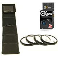 Camera For Close Up Pictures Ex-Pro 67mm Macro Close Up 4 Piece Filter Kit with Case