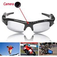 Boriyuan 720 x 480 pixel Video Spy Glasses Sunglasses Dvr Mobile Eyewear Video Camera Camera Sunglasses with Remote Control, Voice and Video Recorder.
