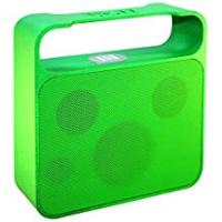 Speaker Cases With Rechargeables Ye!! Sound GEAR Powerful Bluetooth Speaker with NFC Tap to Pair Function and 3 Drive Unit - Green