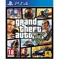 Playstation Games Grand Theft Auto V (PS4)