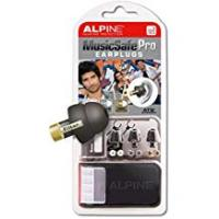 Hearing Protection Alpine MusicSafe Pro - Filter Ear Plugs for Musicians - Black - 3 Sets of Filters and Storage Box