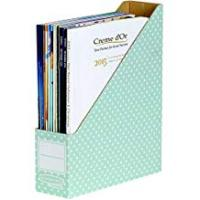 Magazines Bankers Box Style Magazine File - Green/White, Pack of 10