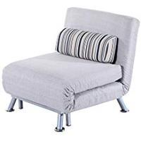 Futons Homcom Fold Out Futon Single Sofa Bed