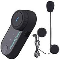 Motorcycle Accessories [Sponsored]FreedConn BT Motorcycle Intercom Motorbike Helmet Bluetooth Intercom Communication System Interphone Headset Great for Riding,Skiing