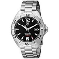 Tag Heuer Watches TAG HEUER MEN'S FORMULA 1 41MM STEEL BRACELET AUTOMATIC WATCH WAZ2113.BA0875
