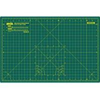 Cutting Mats ANSIO A3 Double Sided Self Healing 5 Layers Cutting Mat Imperial/Metric 17 Inch x 11 Inch / (44cm x 29cm) -Green/Green
