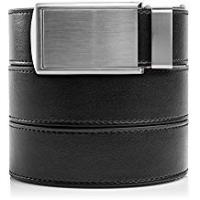 SlideBelts Men's Classic Leather Ratchet Belt with Premium Buckle