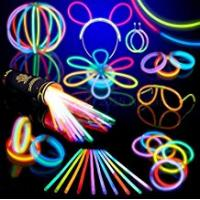 Glow Sticks 100 Glow Stick Party Pack- 8